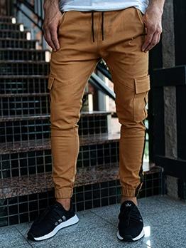 Casual Patchwork Cargo Pants For Men Autumn