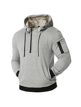 Outdoor Pocket Hoodie For Men Autumn