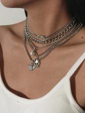 Punk Style Hip Hop Skull Necklace