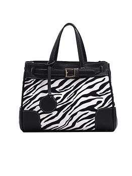 Vintage Style Large Capacity Leopard Hand Bag