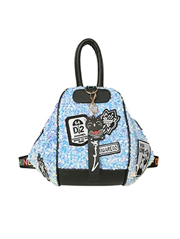 Casual Paster Decor Sequined Women Backpack