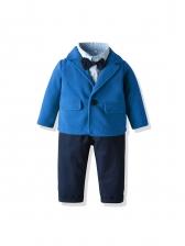 Formal Top Outwear Boys Three Piece Set