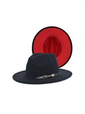 Reversible Contrast Color Pop Fedora Hat