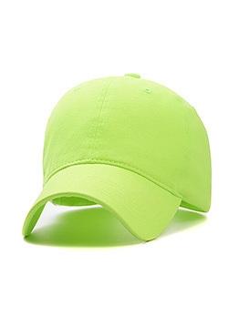 Casual Pure Color Unisex Baseball Cap