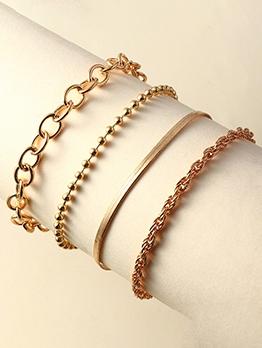 Solid Versatile Metal Bracelets For Women