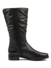 Chic Solid Round Toe Women Boots Online