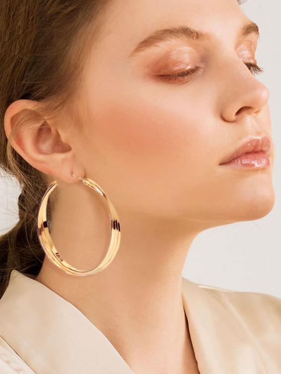 Trendy Geometry Office Lady Earrings
