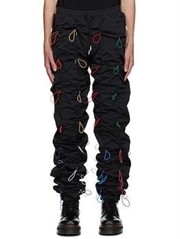 Chic Multiple Colors Drawstring Boutique Cargo Pants