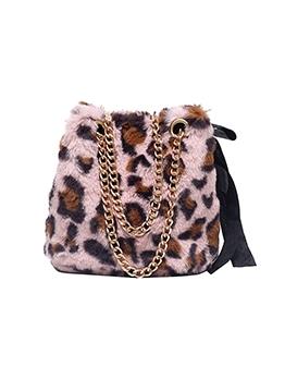 Fashion Leopard Chain Cross Shoulder Bags