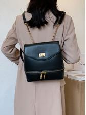 Vintage Twist Lock Backpacks For Women