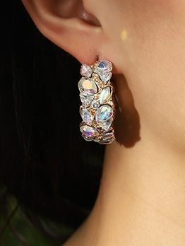 C-Shape Graceful Earrings For Women
