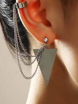 Fashion Silvery Earrings For Women