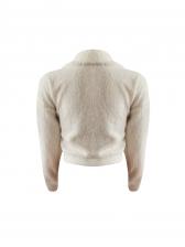 Solid Pockets Button Up Fleece Winter Coats