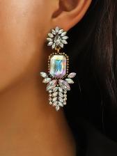 Fashion Rhinestone Street Cute Earrings