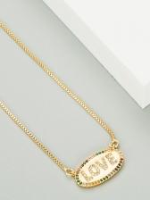 Fashion Trendy Zircon Necklaces For Women
