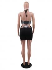 Sexy Off Shoulder Crop Top And Skirt Set