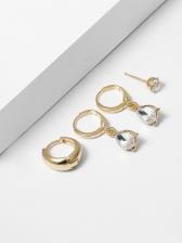 Fashion Rhinestone Earrings For Women
