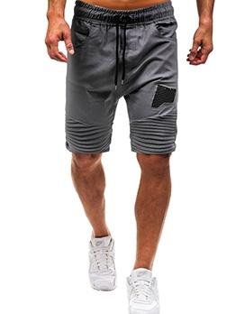 Summer Loose Patchwork Half Pants Men