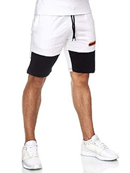 Sport Contrast Color Short Pants For Men