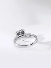 Geometric Shape Fashion Female Heart Ring