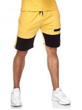 Sport Contrast Color Short Pants For Men
