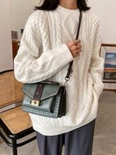 Vintage Twist Lock Crossbody Shoulder Bags