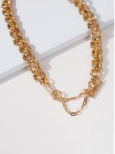 Punk Hip Hop Simple Chain Necklace