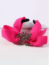 Rhinestone Fashion Sweet Bowknot Hair Hoop