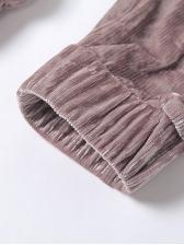 Zipper Up Irregular Hoodies With High Waist Pants