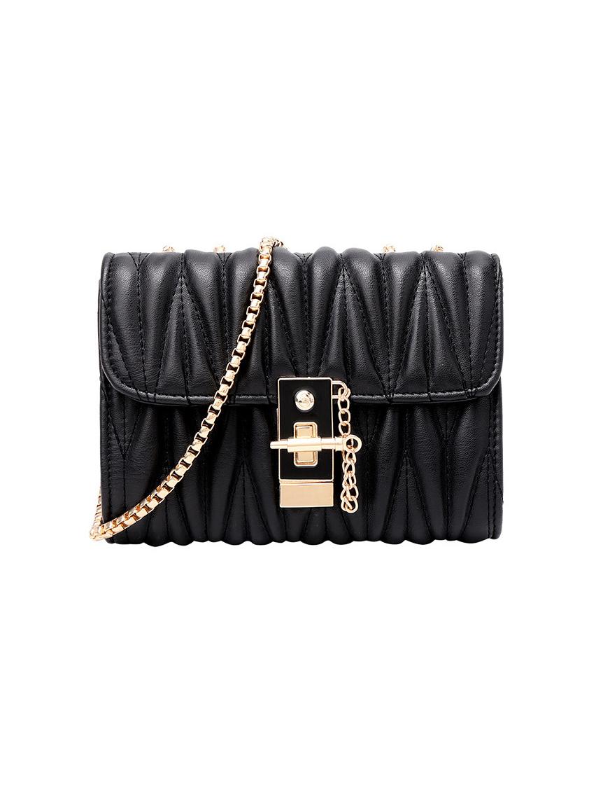 Chic Style Threaded Chain Crossbody Bag