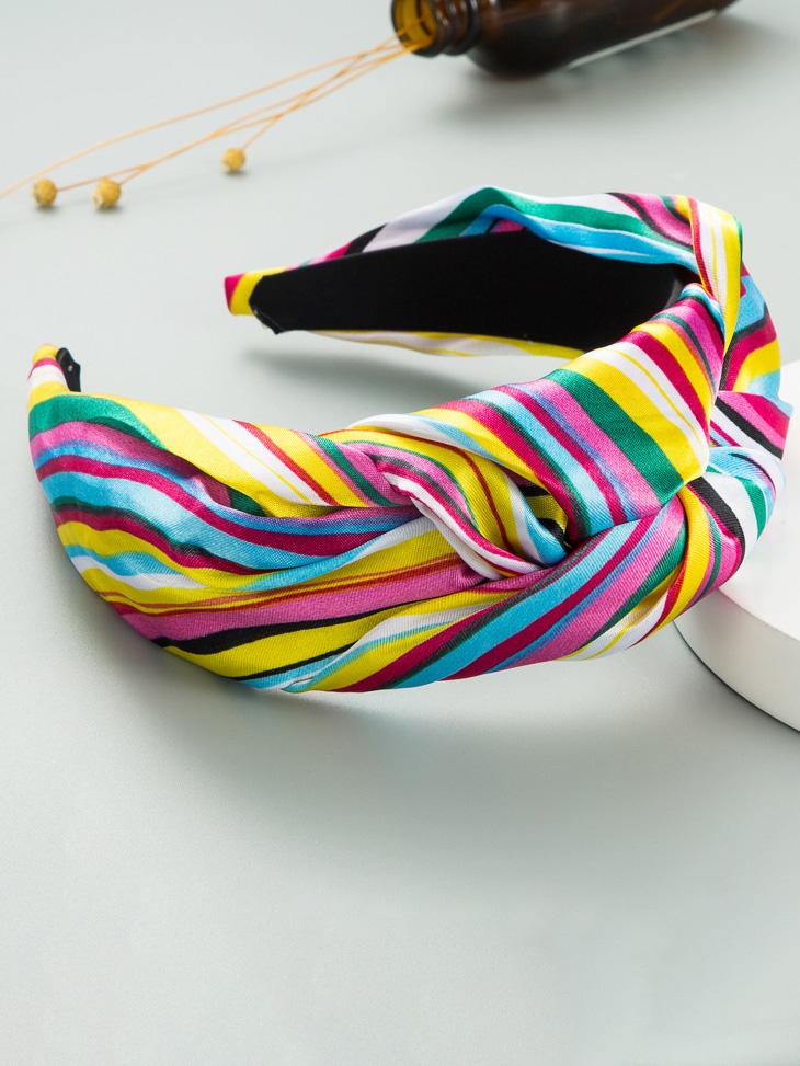 Contrast Color Stylish Korean Style Hair Hoop