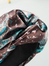 Fashion Printed Wide Edge Korean Hair Hoop