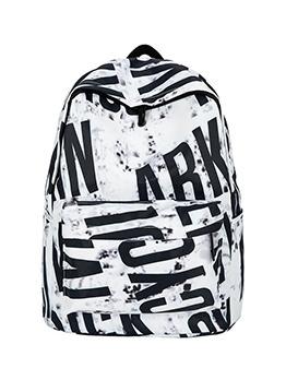 Printed Large Capacity Backpacks For School