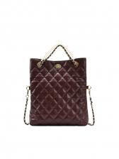 Large Capacity Chain Decor Rhombic Bag