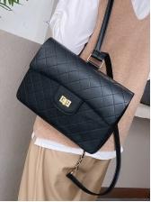 Simple Style Twist Mini Rhombic Bag