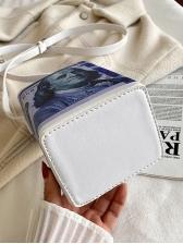 Dollar Print Milk Box Bag Fashion