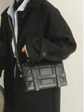 Simple Design Large Capacity PU Shoulder Bag