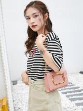 Cute Cat Pattern Chain Shoulder Bag