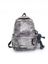 Printed Large Capacity Lovers Backpack