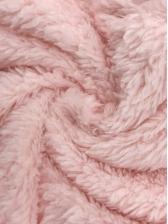 Faux Fur Hooded Zipper Up Long Sleeve Romper