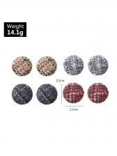 Vintage Simple Easy Match Stud Earrings Set