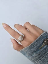 Street Stylish Easy Match Chain Ring