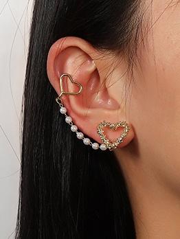 Exquisite Versatile Faux-Pearl Ear Cuff Earrings
