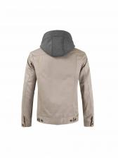 Winter Cotton Button Long Sleeve Hoodie Coat