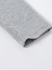 Irregular Hollow Out Off Shoulder Long Sleeve Dress