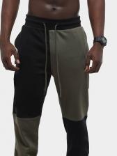 Colorblock Running Jogger Pants Casual