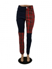 Casual Patchwork Ladies Pants For Women