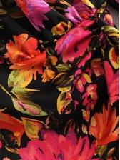 Fashion Botanic Printed Long Sleeve Mini Dress
