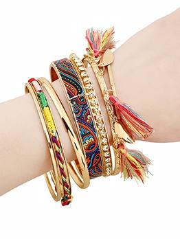 Tourist Souvenir National Style Tassel Bracelet