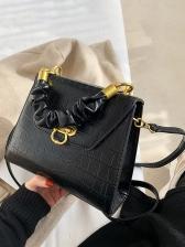 Vintage Alligator Print Crossbody Handbags
